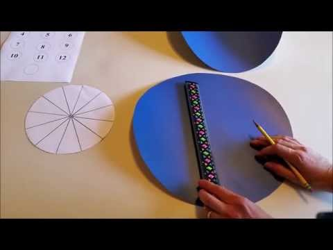 How to Make a Spinning Wheel with Numbered Sections