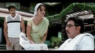 trisha krishnan  saree navel and thoppul show full seen