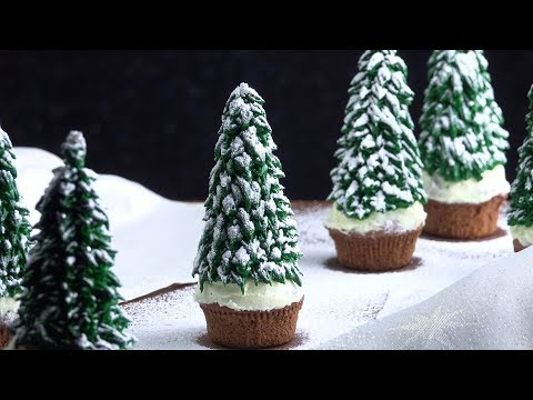 Fix yourself a festive treat with our Christmas Tree Cupcake recipe