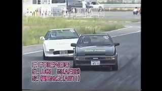 Toyota MR2 AW11 drift