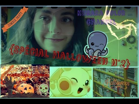 {Spécial Halloween n°2}~Look zombie make-up/hairstyle~
