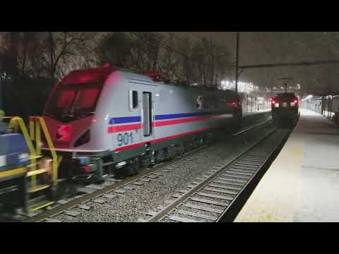SEPTA Extra: Delivery of SEPTA ACS-64 #901 by SPAX Switcher #80