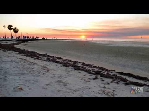 SUNSET & MOONRISE   PINE ISLAND   HERNANDO COUNTY, FL