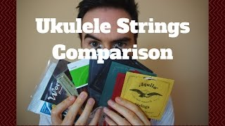 Ukulele Strings Comparison