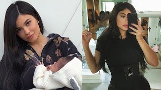 Kylie Jenner UNDER FIRE For Promoting Waist Trainers Weeks After Giving Birth