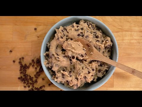How to Make Edible Chocolate Chip Cookie Dough