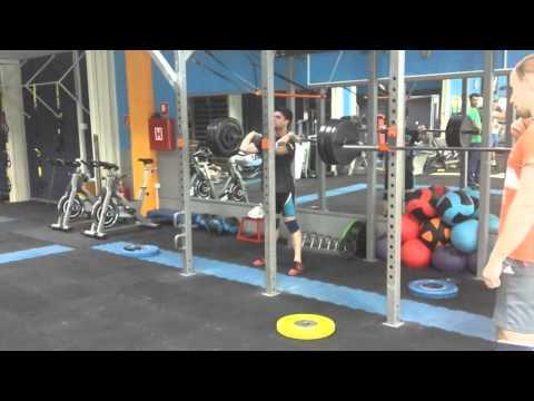 Front squat 120kg x4