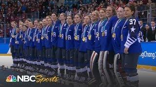 Team USA receives women