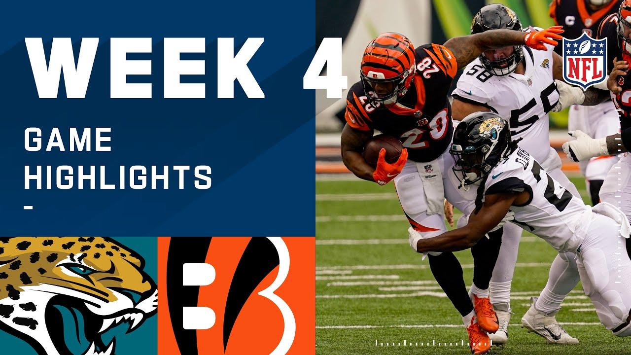 Jaguars vs. Bengals Week 4 Highlights | NFL 2020