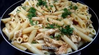 penne pasta recipe │ Chicken pasta │ Easy steps