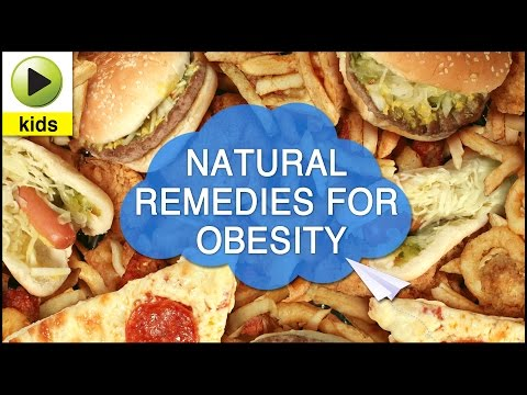 Kids Health: Obesity - Natural Home Remedies for Obesity