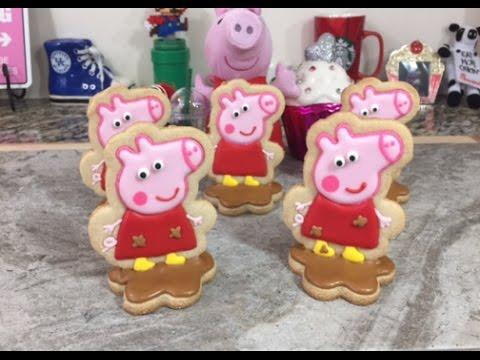 3D Peppa Pig In Mud Cookies (How To)