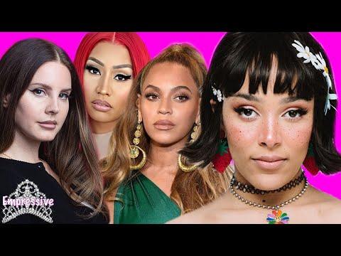 Doja Cat cancelled...for weird behavior   Lana Del Rey calls out Beyonce, Nicki, Ariana, etc.