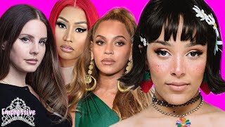 Doja Cat cancelled...for weird behavior | Lana Del Rey calls out Beyonce, Nicki, Ariana, etc.