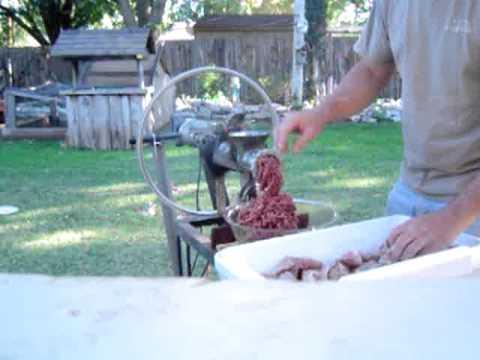 oklahoma meat grinder