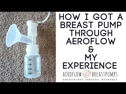 How I Got a Breast Pump Through Aeroflow + My experience