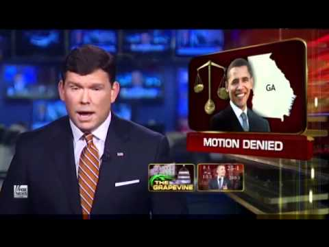 Judge Orders Obama To Appear At Georgia Eligibility Hearing - 1/23/2012