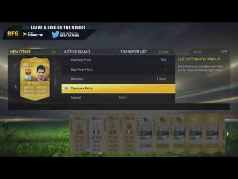 LUIS SUAREZ PACK OPENING | FIFA 15 Ultimate Team
