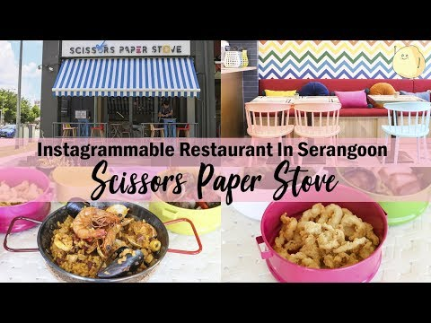 Scissors Paper Stove - Spanish Tapas With Asian Flavours In Serangoon