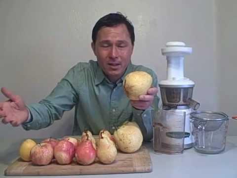 How to Make Apple Pear Lemonade in the Omega VRT 330 HD Juicer
