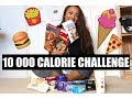 10, 000 Calorie Challenge | Girl VS Food | EPIC CHEAT DAY