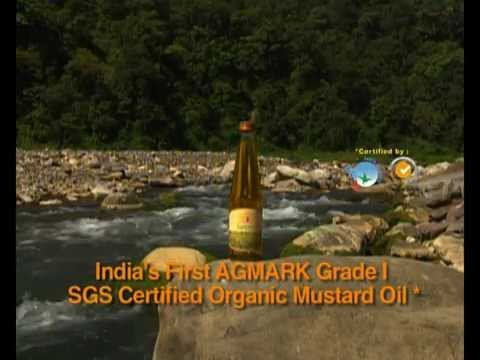 P Sanjeevani Organic Mustard Oil 50 Seconds