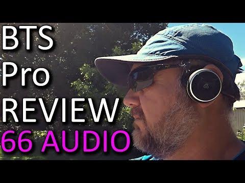 66 Audio BTS Pro Sports Headphones Review Plus Look at New Pro Voice