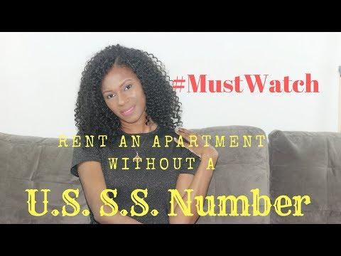 How to Rent an Apartment without a Social Security Number .... Legally....// Entrepreneur Kenya