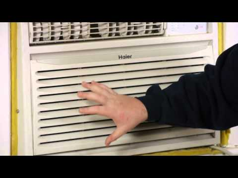 How to Decorate a Window Air Conditioner With Drapery : Window Air Conditioners