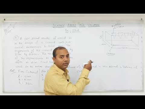 Class 10 Surface Areas and Volumes  (Part- 8)