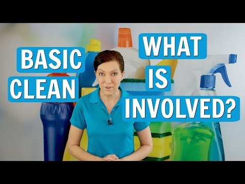 Basic Clean - What House Cleaning Chores Should I Include?