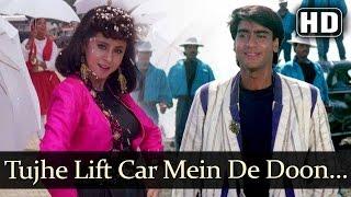 Tujhe Lift Car Mein De Doon (HD) - Kanoon - Ajay Devgan - Urmila Matondkar - Kumar Sanu - Lata Mange