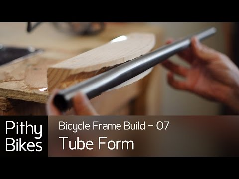Bicycle Frame Build 07 - Tube Bending Form