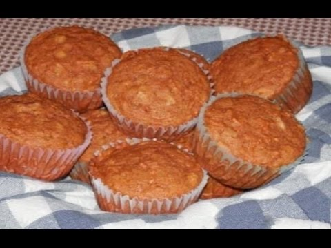 Carrot muffins recipe easy