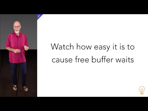 How to CAUSE Oracle free buffer waits