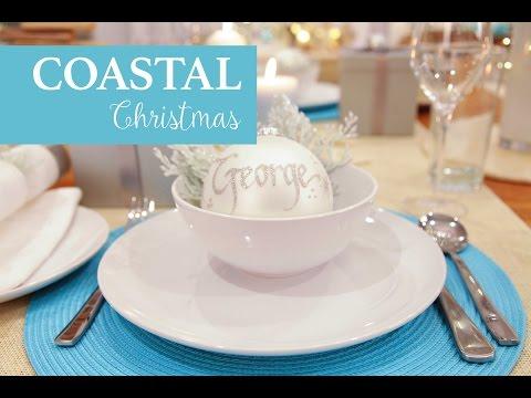 Coastal Christmas Decorating Inspirations 2015