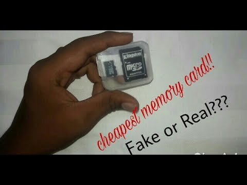 Magideal cheapest 64gb sd card fake or real???