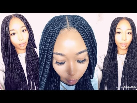 Affordable Braided Wig Under $120| Ft. Khenny Esther Wigs