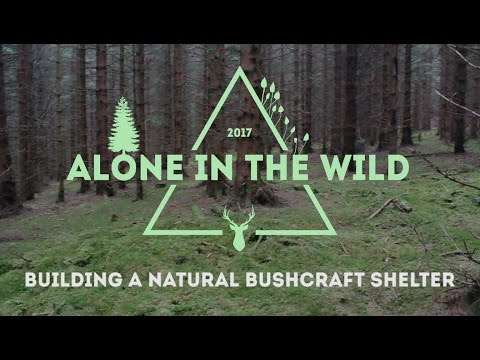 AITW001: Building a Natural Bushcraft Shelter