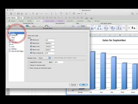 How to Create A 3D Bar Chart in Excel for Mac