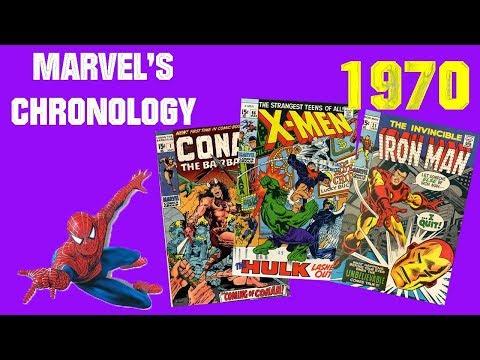 Marvel's Chronology #9 - L'année 1970