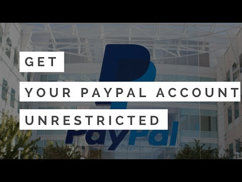 Emergency Guide - How to get your PayPal Account unrestricted