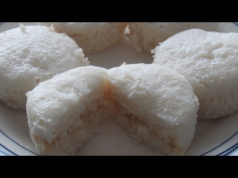 Sweet Idli | Sanna | Mangalore Recipe | Coconut Jaggery Stuffed Idli