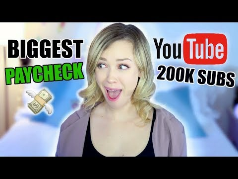 How Much MONEY I Make From YOUTUBE! | 200k Subscribers
