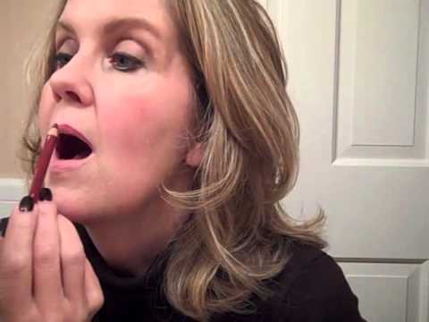 How to Do a Dark Lipstick on Mature lips, Keep it From Feathering and Make it Stay Put!