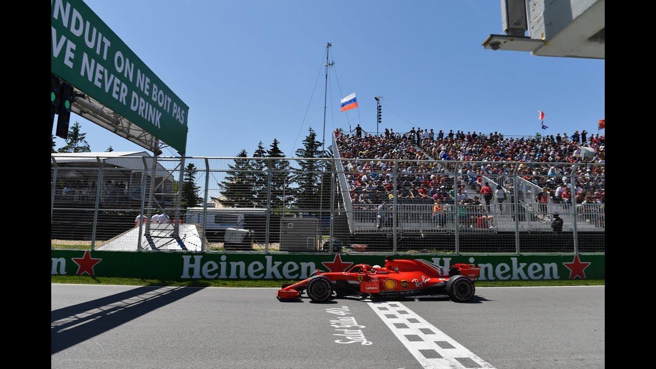 Sebastian Vettel's Record Pole in Montreal (360 Video)   2018 Canadian Grand Prix