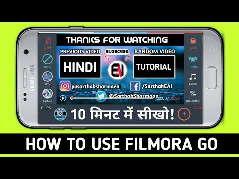 How to Edit Videos On Filmora Go App | Full Tutorial of FilmoraGo Video Editing App !