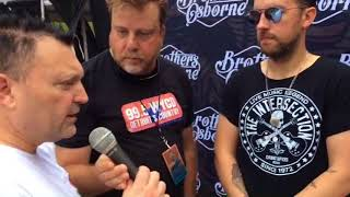 Brothers Osborne Humor Chuck And Let Him Do The Make It Burn Part