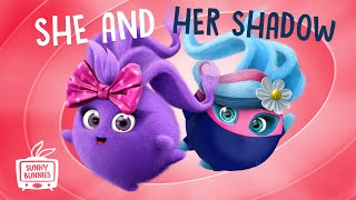 🔴  LIVE SUNNY BUNNIES TV   She and her Shadow   Cartoons for Children