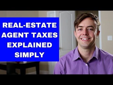 Real-Estate Agent Taxes (Explained Simply)